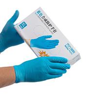 Перчатки нитрил 80% винил 20%, M, L смотровые,