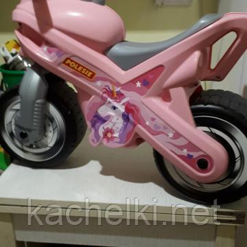 "Каталка-мотоцикл ""МХ"" розовый"