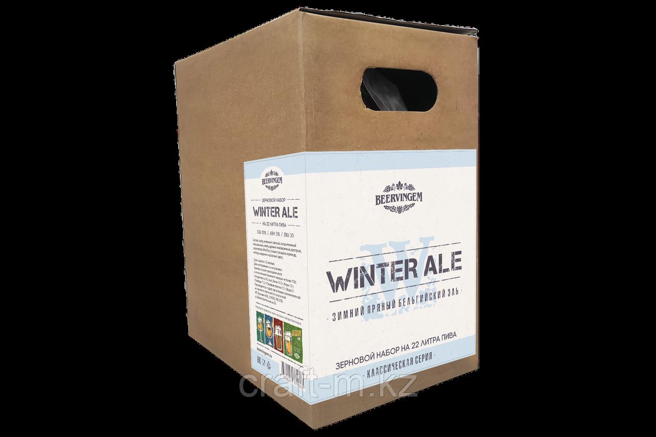 """Зерновой набор Beervingem """"winter ale"""" на 22 л пива"""