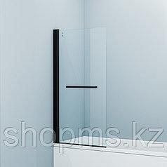 Душевые шторки на ванну Slide SLI5BS7i90, черн.ал. проф., IDDIS (750*1450*40)