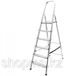 Лестница-стремянка, алюминиевая, 5 ступени, вес 3,6 кг 65343