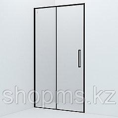 Душевые двери Slide SLI6BS1i69 черный ал. проф., IDDIS  (1100x1950)