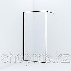 Душевая перегородка Walk In, черный (1000*1950) Slide, IDDIS, SLI8BS1i23