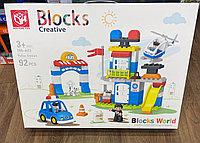 Конструктор Полицейский участок Blocks Creative 188-A03 92 детали