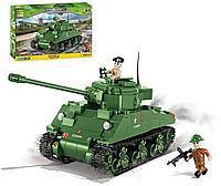 """Конструктор """"Средний танк SHERMANN FIREFLY"""" 500 дет. (COBI, Польша)"""