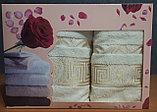 Набор полотенец для лица и тела в подарочной коробке., фото 2