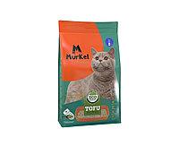 С ароматом молока, 12л., тофу комкующийся соевый наполнитель Murkel