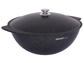 """Казан 6 литров """"Granit ultra"""" (blue) с каменным антипригарным покрытием"""