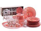 Столовый сервиз Luminarc Japanese Pink 46 предметов на 6 персон, фото 2