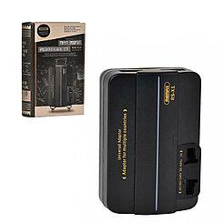 Адаптер сетевой универсальный Remax RS-X1 Black