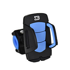 Держатель для телефона BYZ ZJ011 Bicycle Phone Holder Silicone Black/Blue
