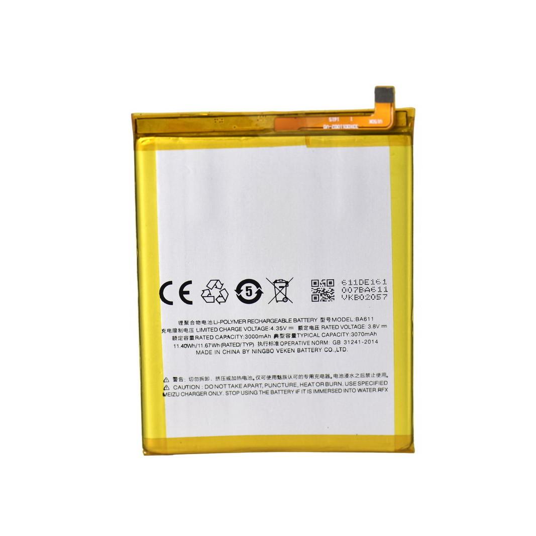 Аккумулятор Meizu BA611 M5 3070 mAh oem