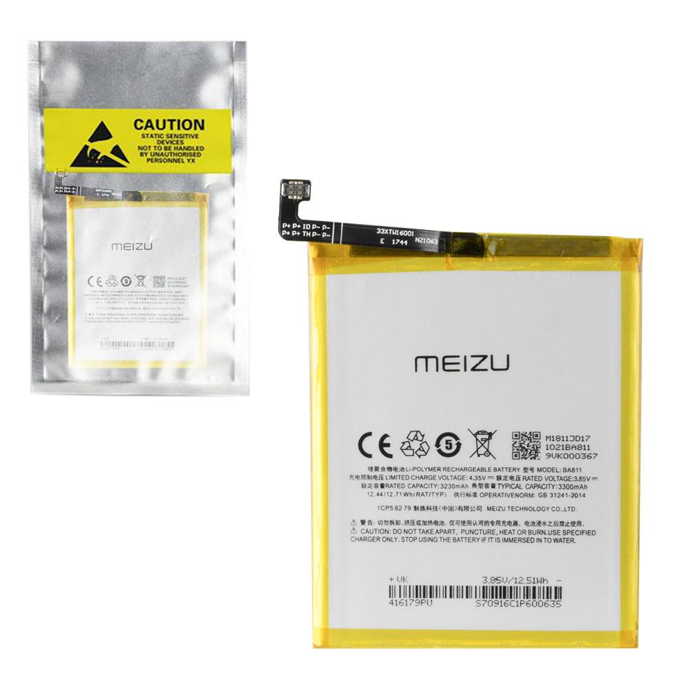 Аккумулятор Meizu BA811 M6T 3300mAh