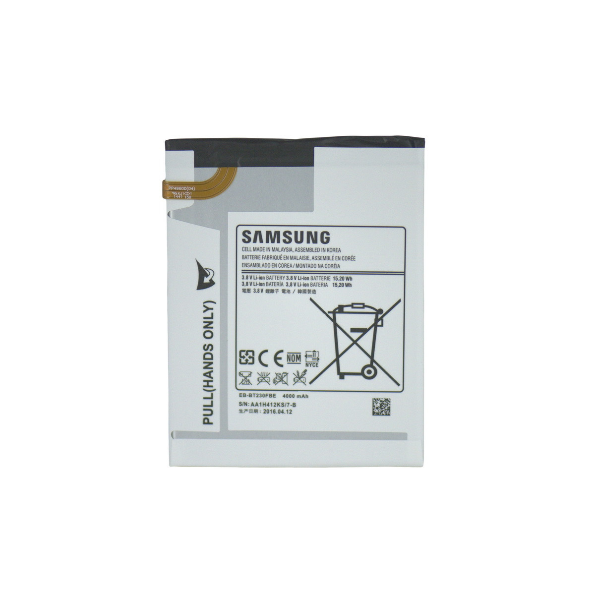 Аккумулятор Samsung Galaxy Tab 4 70 T230/T235 EB-BT230FBE Original OEM