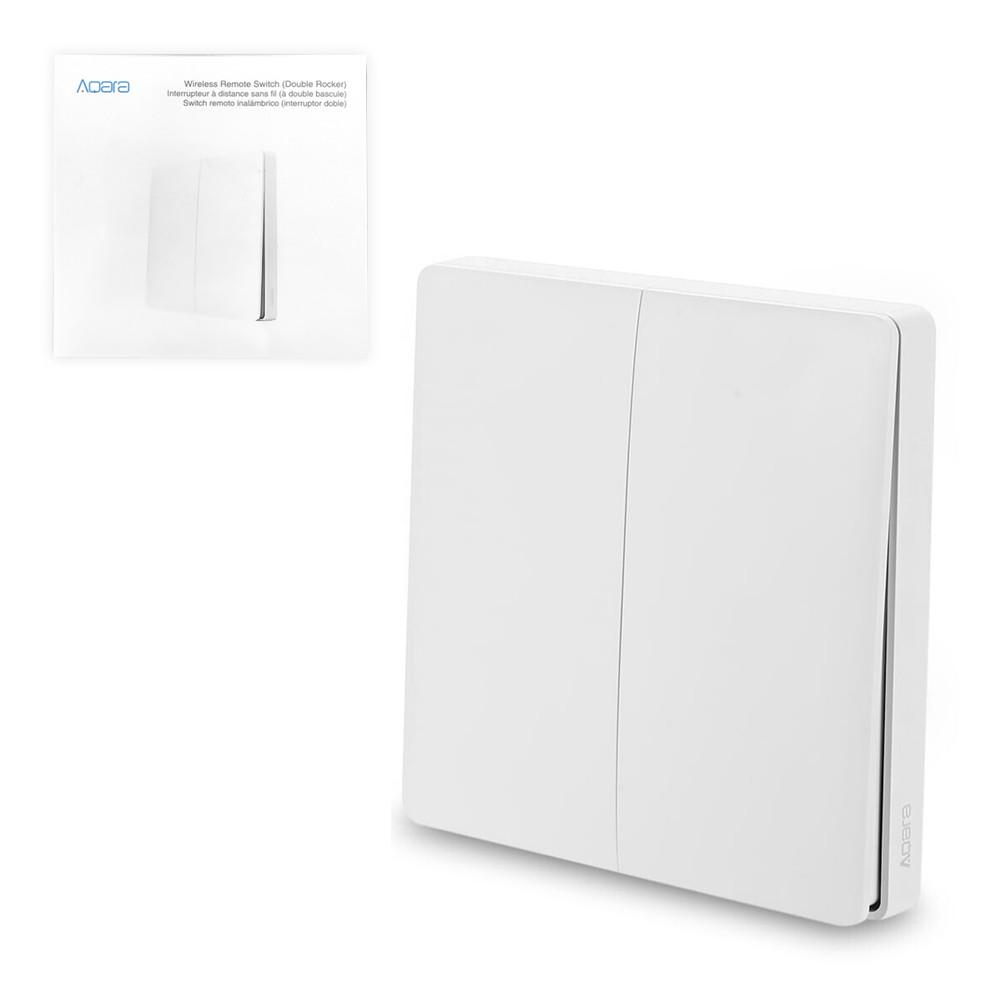 Беспроводной выключатель двойной Aqara Wireless Remote Switch, White
