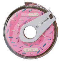 ATC-180 Сменный файл-лента papmAm в пластиковой катушке с клипсой Staleks Pro Expert 180 грит. (6 м)