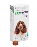 Бравекто жевательная таблетка для собак весом 10-20 кг.
