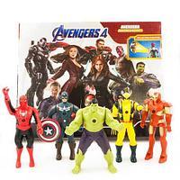 Набор фигурок супергероев Marvel со световыми проекторами «Мстители» AVENGERS