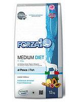 Forza10 Medium Diet Pesce (рыба) диетический корм для собак 12 кг
