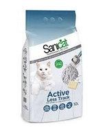Sanicat Active Less Track комкующийся наполнитель для длинношерстных кошек с ароматом мыла 10 л