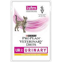 Pro Plan vet Feline UR Urinary Влажный корм Purina Pro Plan Veterinary diets UR, корм для кошек при болезнях