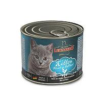 Leonardo Kitten Rich in Poultry, Леонардо Влажный корм для котят с курицей, банка 200 гр.