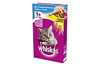 "Whiskas Подушечки с паштетом ""Курица"" сухой корм для стерилизованных кошек 350 гр"