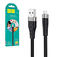 Кабель Micro USB Hoco X53, 1m, 2.4A, Black