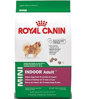 Royal Canin MINI INDOOR Сухой корм для взрослых собак мелких пород, живущих в доме1.5 kg.