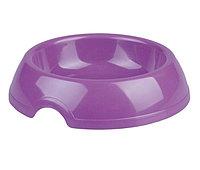 """Миска """"Феликс"""" пластиковая для кошек и собак, 0,2 л, фиолетовая"""
