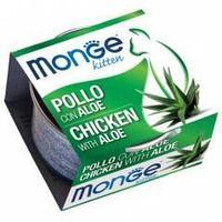 Monge Fruits Tuna & Aloe - Kitten влажный корм для котят с алоэ и курицей, 80 гр