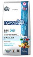 Forza10 Mini Diet Корм диетический низкоуглеводный для собак мелких пород с рыбой, 1.5 кг