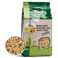 TRIOL Originals Корм Для волнистых попугаев с фруктами 450 гр АРТ 50111012