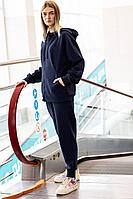 Женский осенний трикотажный синий спортивный спортивный костюм GO F3008/30-03.164-170 50р.