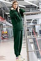 Женский осенний трикотажный зеленый спортивный спортивный костюм GO F3008/25-02.164-170 42р.