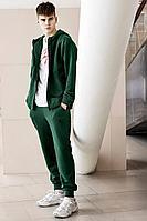 Мужской осенний трикотажный зеленый спортивный спортивный костюм GO M3008/25-02.176-182 44р.