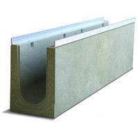 Лоток бетонный водоотводный 100 мм (DN100), 163 мм, 180 мм
