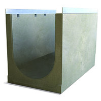 Лоток бетонный водоотводный 400 мм (DN400), 550 мм, 400 мм