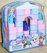 JX6664 Конструктор Frozen в рюкзаке 3 фигурки 26*23, фото 2