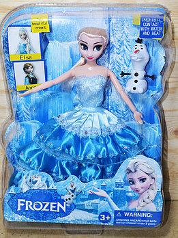 6698 Кукла Frozen Эльза в прозрачной упаковке 34*25