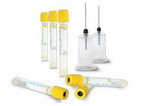 Вакуумные пробирки (вакутейнеры) для забора крови с желтой крышкой 8,5 мл. (с гелем и активатором свертывания)
