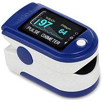Электронный беспроводной пульсометр на палец для определения уровня кислорода в крови и пульса Oximeter