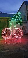 Ламповый Дюралайт 100 м бухта круглый 2-х жильный. Все цвета. Круглый 24 диода, фото 5