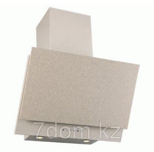 Вытяжка экранная Elikor Рубин Stone S4 60П-700 топ.молоко/sanded sahara