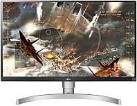 Монитор игровой LG 27.0 3840x2160 HDMI DP Черный (27UL650-W)