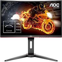 Монитор игровой AOC 27.0 1920x1080 D-Sub HDMI DP Черный (C27G1)