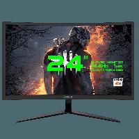 Монитор игровой Gamemax 23.6 1920x1080 DVI HDMI DP Черный (GMX24C144 Black)