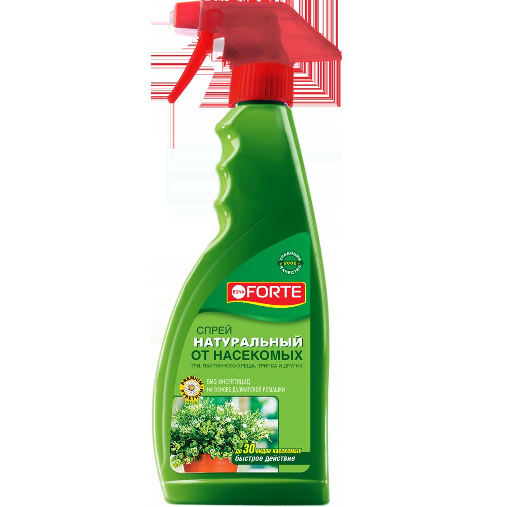 Bona Forte Натуральное инсектицидное средство от летающих насекомых-вредителей, флакон 500 мл/ 12