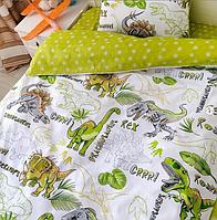 """Постельное белье """"Динозавры"""", 1,5-спальное"""