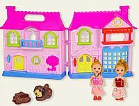 Funny House: Игр.н-р Домик + 2 куклы, со светом и звуком